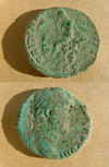 Picture of Roman Coins
